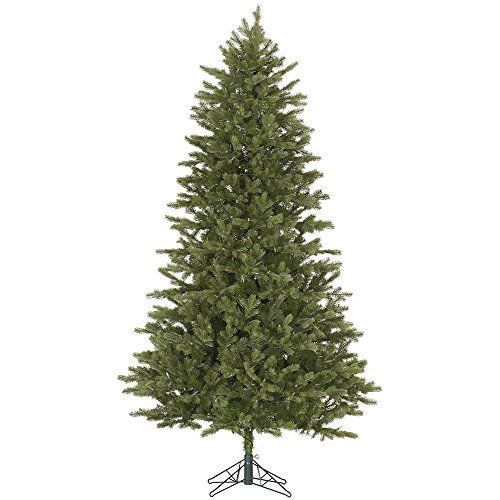 10 Slim Balsam Fir Artificial Christmas Tree  Unlit * Click image for more details.