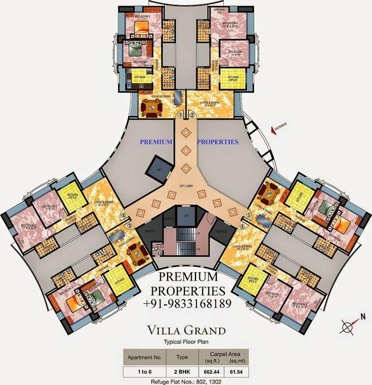 BUY  SELL  RENT: Hiranandani Estate : Villa Grand