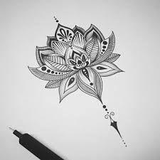 Resultado de imagen para tatuagem flor de lotus