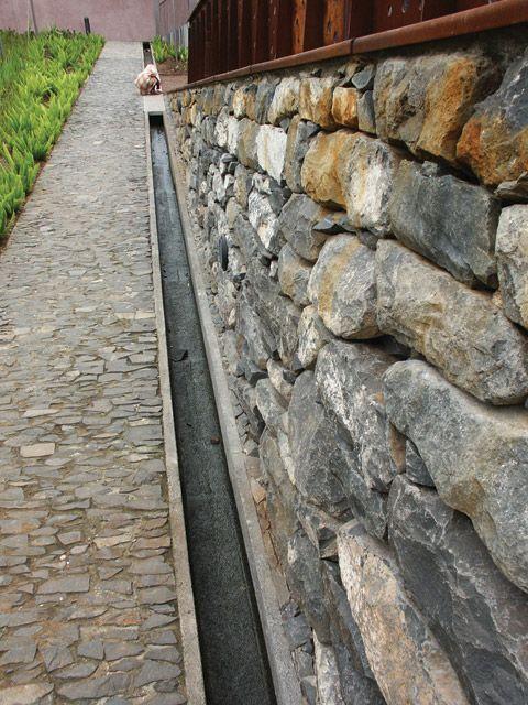 1000 ideas about gutter drainage on pinterest downspout for Landscape channel drain