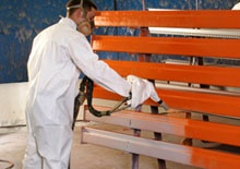 Pallet Rack Specialists in Minnesota  - SJF Material Handling ( SJF.com)  Buys & Sells New & Used Pallet Racks & Pallet Rack Wire Decking Nationwide. Rack Services: Buy & Sell - Refurbish - Repaint - Design - Dismantle  - Install  - Relocate  Visit SJF.com 800-598-5532