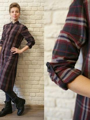 Платье-рубашка-платье-кафтан / Фотофорум / Burdastyle