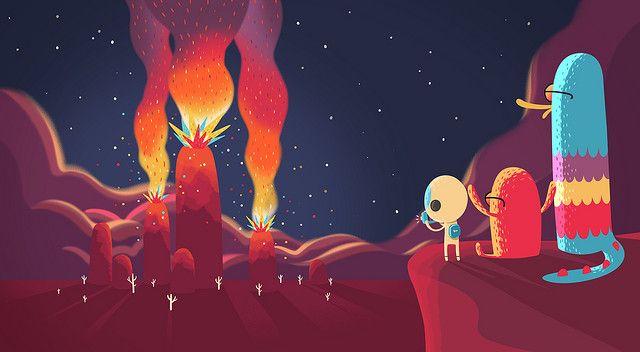 Howdy Explosion by jovandemelo, via Flickr: Photos, Artillustr 18, Vector Illustrations, Concept Art, Art Illustrations 18, Jovan De, De Melo