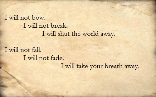 breaking benjamin i will not bow