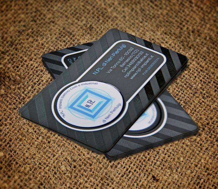 biglietto da visita plastificato opaco fronte  + retro a rilievo + uv lucido a zona exclusive business cards