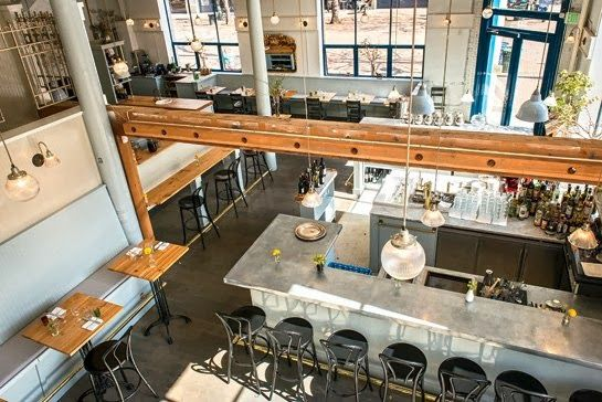 Restaurant Oyster Bar Hospitality Interior Design Of Elliott S Oyster House Seattle : Best images about espresso bars with style on pinterest
