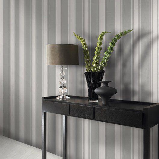 les 25 meilleures id es de la cat gorie papier peint rayures sur pinterest couloir ray. Black Bedroom Furniture Sets. Home Design Ideas