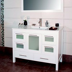 did you know that furniture inspired vanities are available at tile outlets of america learn about bathroom cabinets and the priele line from adornus