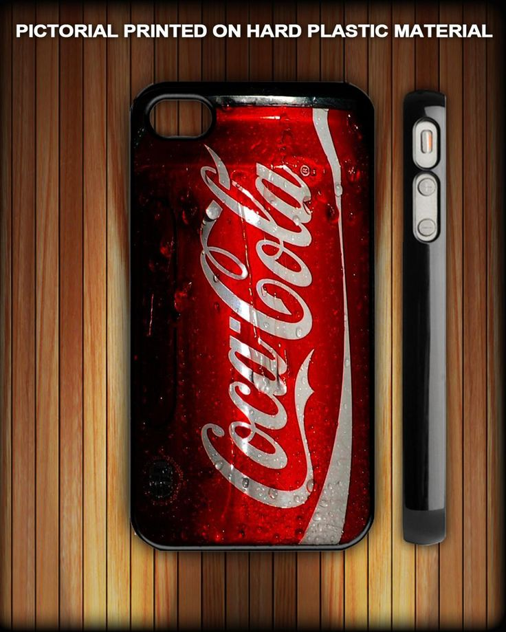 coca cola coke Fresh New cool On iPhone 4 black Case