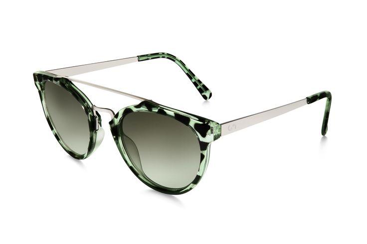 Occhiali da sole polarizzati: SELFIE/HAVANA GREEN di Slash Sunglasses http://www.slashsunglasses.com/shop/selfie-tartaruga-verde-verde.html