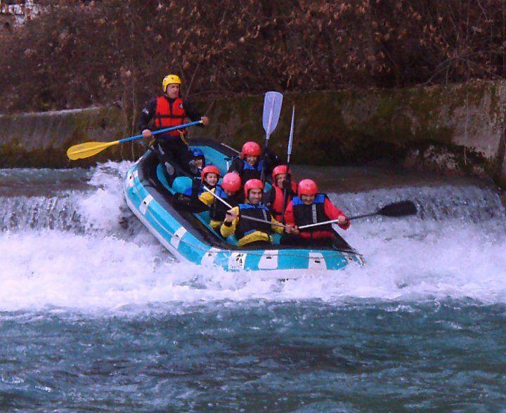 Rafting στον Βοϊδομάτη ποταμό.