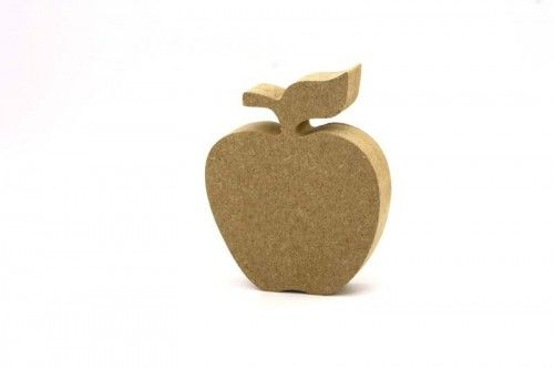 18mm MDF Freestanding apple 10cm and 15cm Teacher and Teaching assistant gifts ready to paint. http://www.lornajayne.co.uk/