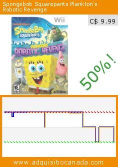 Spongebob Squarepants Plankton's Robotic Revenge (Video Game). Drop 50%! Current price C$ 9.99, the previous price was C$ 19.99. http://www.adquisitiocanada.com/activision-blizzard/spongebob-squarepants-0