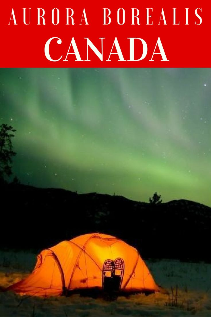 What it's like to see the Aurora Borealis in the Yukon Canada