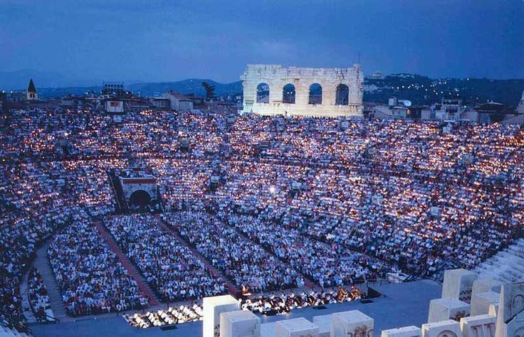 Verona Arena - Opera (done Aug 2015)