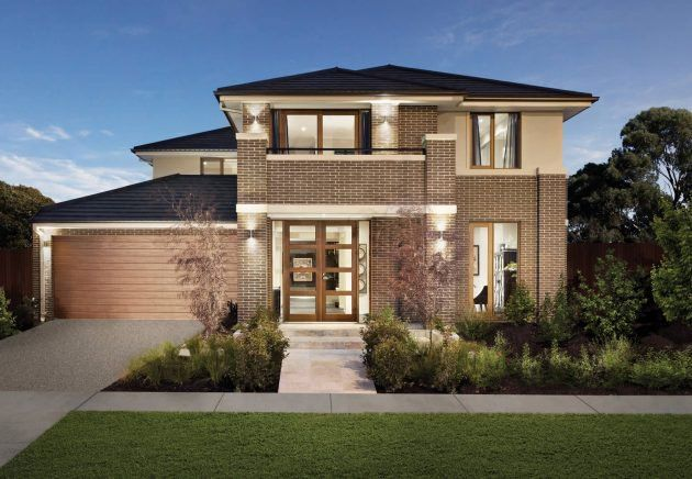 16 Marvelous Brick House Designs That You Shouldn T Miss Facade House Double Storey House Brick House Designs