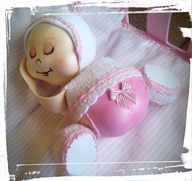 Fofucha bebe niña