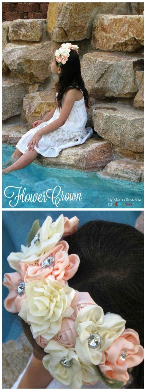 Flower Crown - The Ribbon Retreat Blog