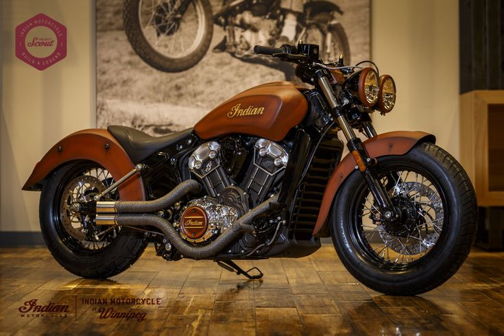 Indian Motorcycles of Winnipeg #projectscout