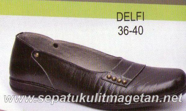 Sepatu Kulit Asli Wanita CJ Delfi