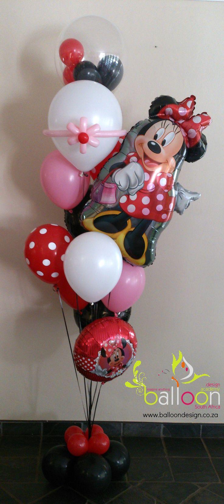Mad About Minnie Balloon Bouquet 17 best