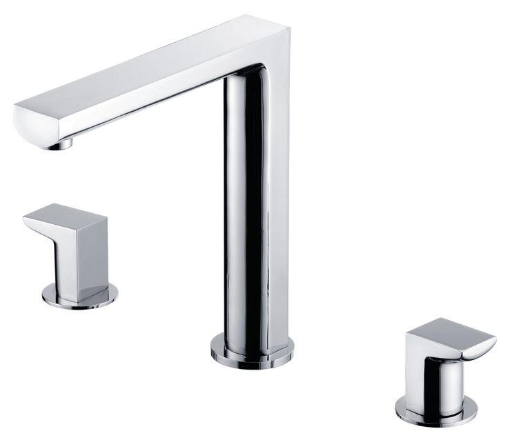ARCH Two-handle Kitchen Faucet. #kitchen #faucet #JUSTIME