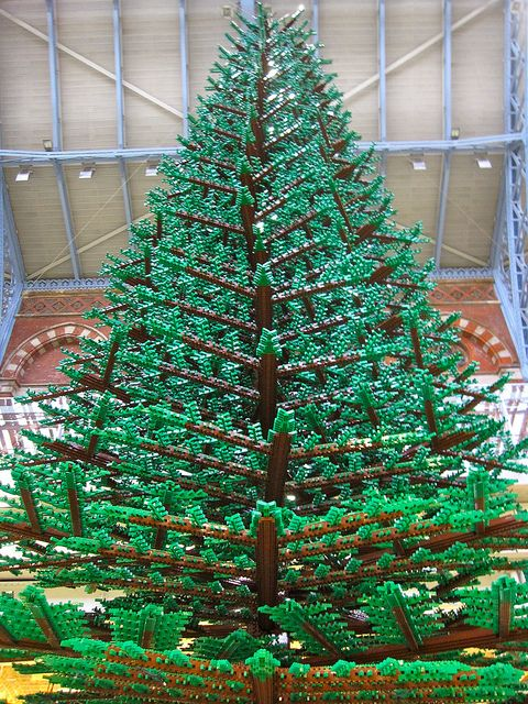 Lego: Lego 2011, Lego Christmas Tree, Awesome Lego, Lego Mania, Lego Art, Lego Creations, Granny Square, Lego Stuff, Christmas Trees