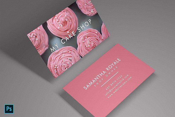 Cake Sweet Shop Beautiful Unique Card 273243 Business Cards Design Bundles Business Card Template Design Bakery Business Cards Unique Business Cards