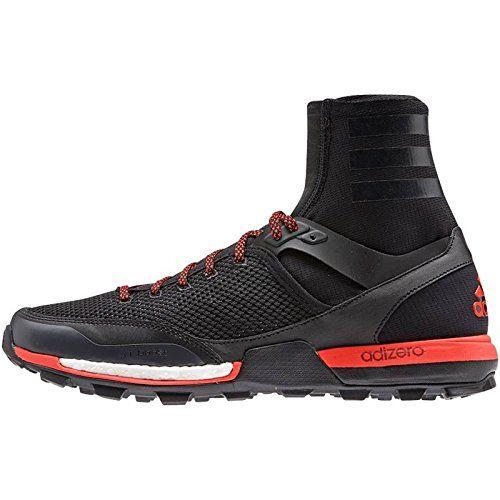 adidas B23452 Mens Adizero Xt 5 Boost, Black/Dark Grey/Solar Red, 9 * Visit the image link more details.