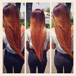 Bleached Uzbekistan slightly coarse texture: Blondes Ombre Sewing In, Straight Weaving Hairstyles, Color Ahh, Hair Weaving, Fire Ombre, Hair Style, Natural Hairstyles, Ombre Sewing In Hairstyles, Hairrrr Color
