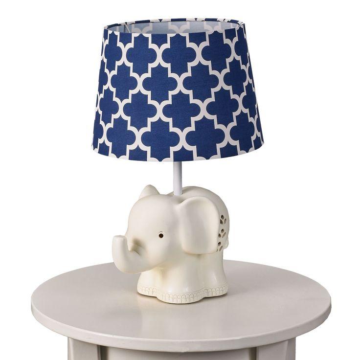 Elephant Lamp Base & Shade