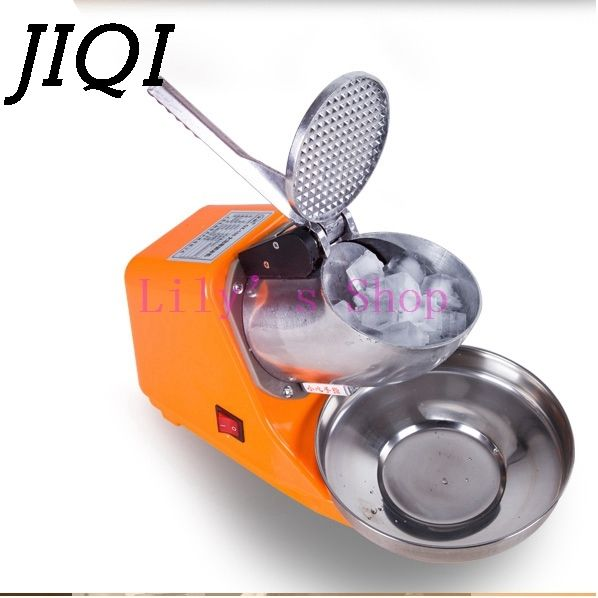 31.55$  Watch here - http://ali2q8.shopchina.info/go.php?t=32632660642 - Stainless Steel electric Ice Chopper Crusher shaver ice shaving machine icecream snow cone Smoothie smasher ice slush maker 220V 31.55$ #buymethat