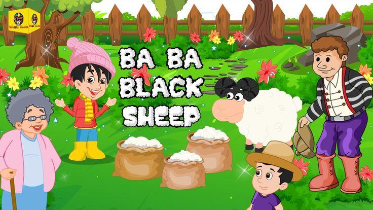 Baa Baa Black Sheep With Lyrics | Nursery Rhyme | Kids Whole Earth