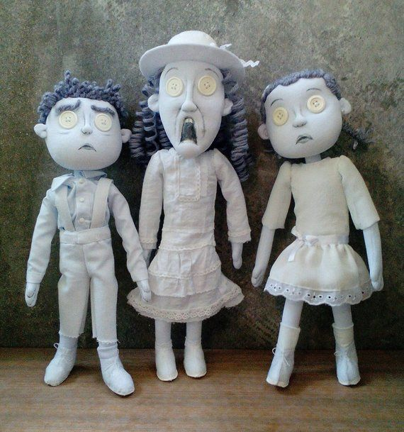 Ghost Children Dolls Coraline Doll Coraline Jones Child Doll