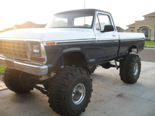 I would take this already jacked up 1967 ford and pimp this bad boy outtt
