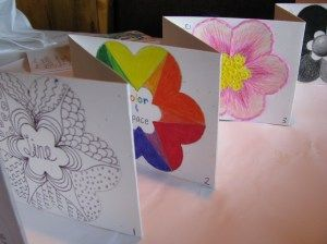 Elements of Art accordion book: 7-8 visual arts lesson plan « Stockton Visual and Performing Arts