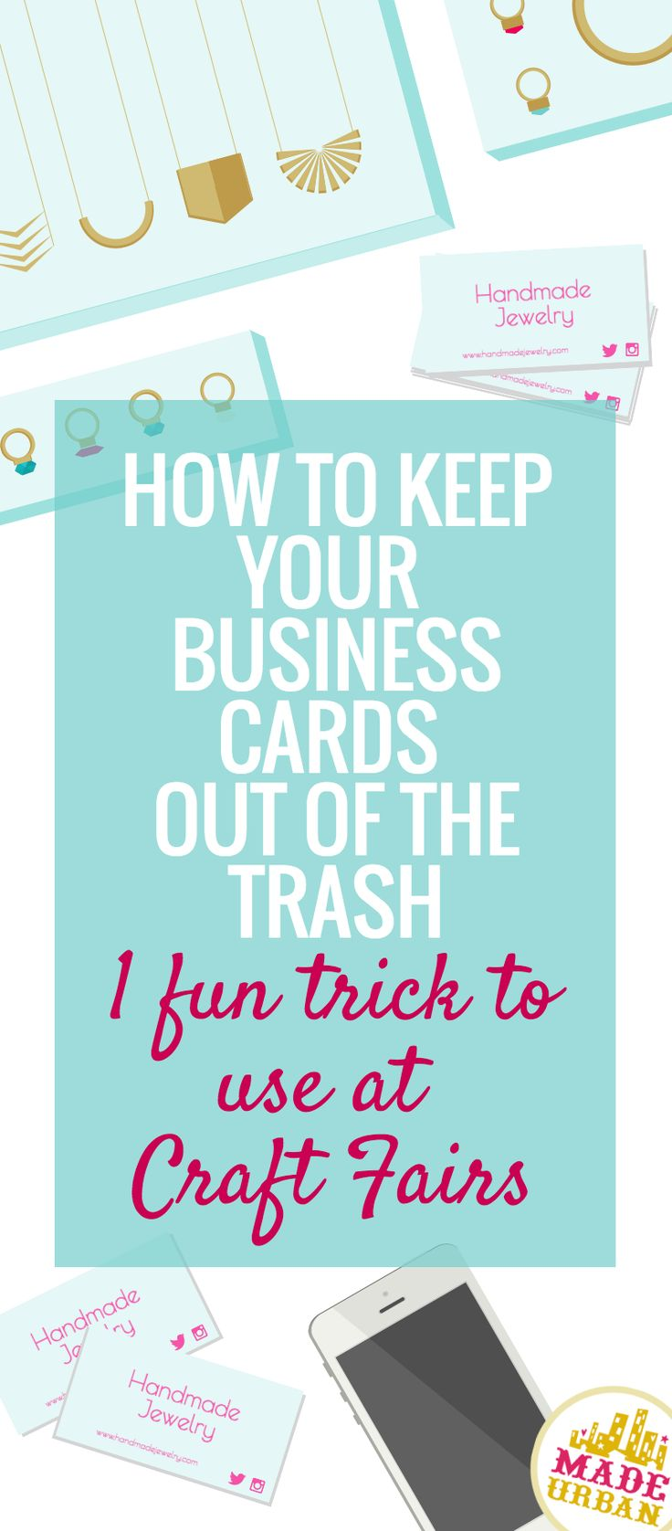 When you get a business card, what do you do with it? I appreciate a well-designed business card and know how much thought, time and money small businesses put into them so I would feel guilty if I just tossed them out. I actually have a reall...