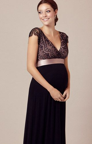 39e96780765 Our best selling Rosa maternity gown in Vintage Blush is the perfect party  dress. So we ve added a full length version for those A-list evenings when  you ...