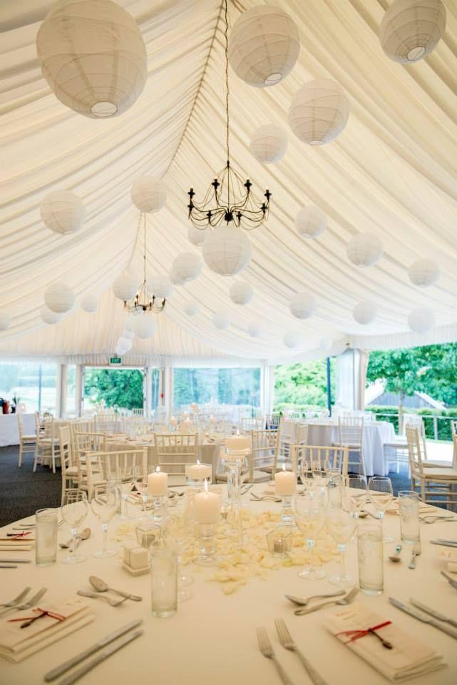 Queenstown Wedding Hire White paper lanterns