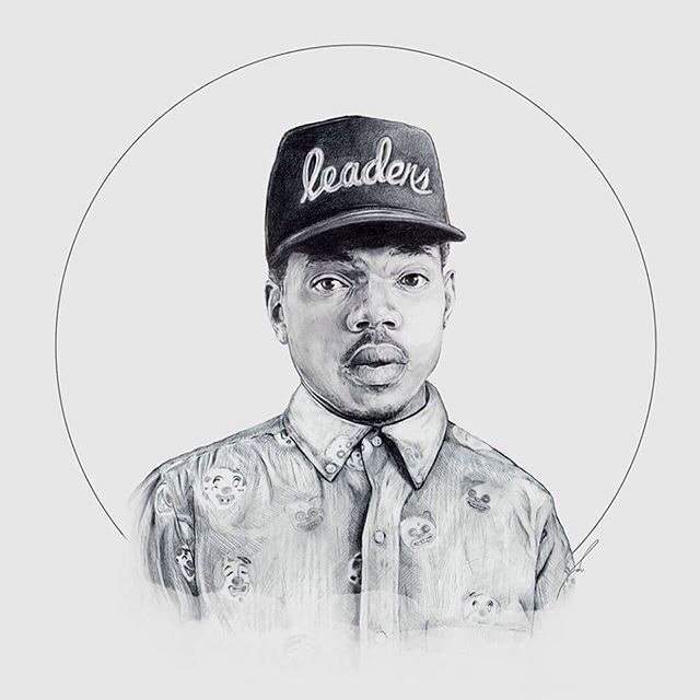 •We don't | do the same drugs no more | we don't do the we don't do the same drugs | do the same drugs no more • 🙌🏻🙌🏻🙌🏻🙌🏻 #drawing #mechanicalpencil #pencil #graphite #portrait #illustration #fanart #chancetherapper #coloringbook #illustration #cap #snapback #bw #chano #leadershat