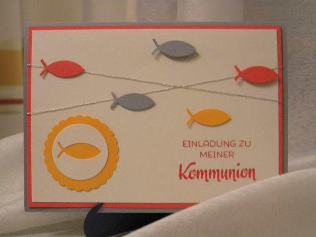 Die Karte wurde in Handarbeit mit,  unter anderem,  Stampin Up Produkten erstellt .   Jede Karte ist daher ein Unikat.  Farbe:   Grau - Calypso - Creme  Karte mit Umschlag  Zusatzkosten: ...
