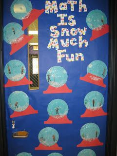 Winter Wonderland - Classroom Door Decorations