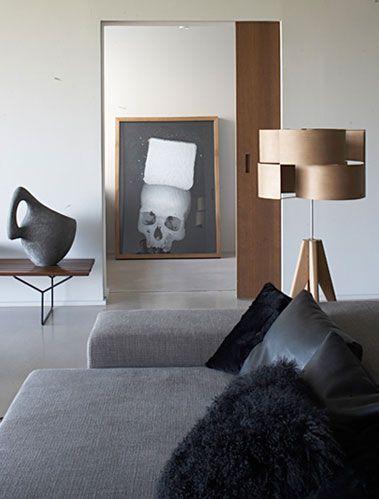 Studios Ko, Interiors Design, Living Room, Modern Industrial, Black White, House, White Interiors, Industrial Design, French Design
