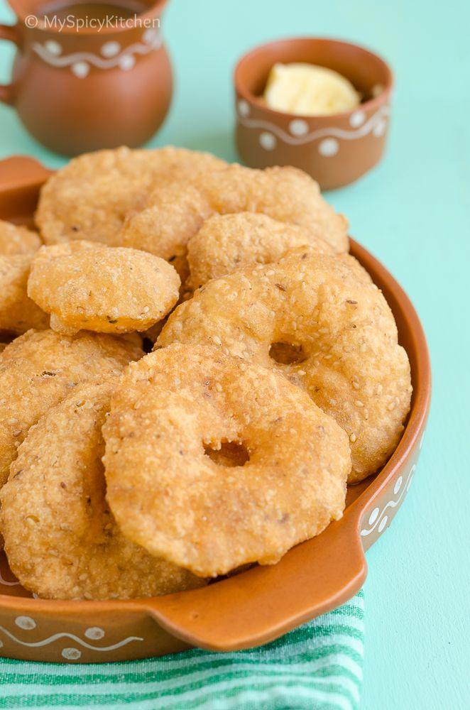 Odapplau ~ Instant Rice Flour Garelu (Vada)
