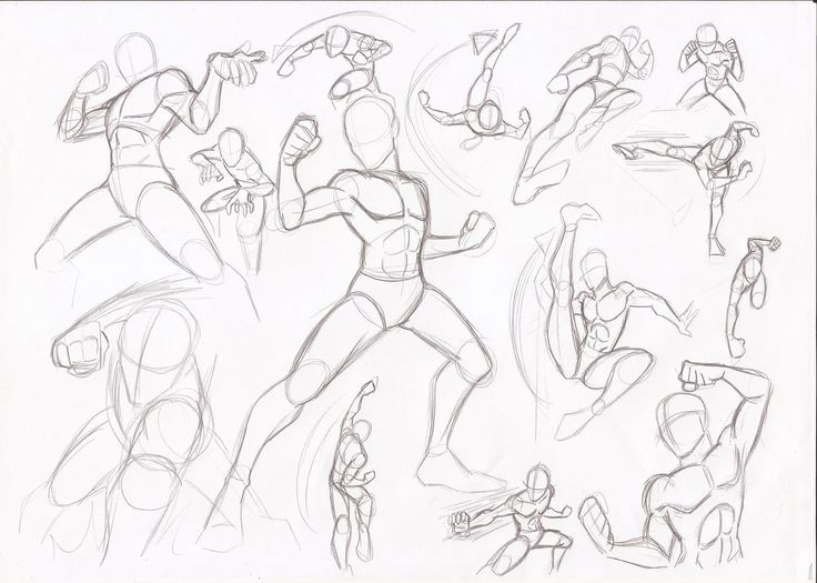 Male poses - fighting by RikuGloomy.deviantart.com on @DeviantArt