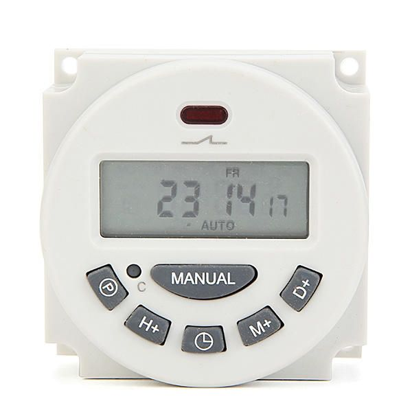 Digital Lcd Power Programmable Timer Switch Controller 16a 12v Description The Timer Switch Of L701 Is Contr Led Strip Lighting Led Strip Strip Lighting