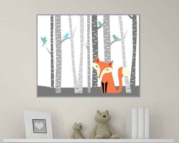 Fox pépinière Art Print, pépinière Art Print, Fox Art Print, bébé fille ou garçon pépinière decoration murale couleur imprimer-perso - N526 - sans cadre   Cette liste est pour 1 art impression uniquement - cadre non inclus.  Ces tirages sont imprimés de façon professionnelle sur papier mat poids lourds de haute qualité avec des encres darchivage. Sil vous plaît être conscient que les variations de couleur peuvent se produire en raison des différences dans les écrans dordinateur.  SI VOUS…