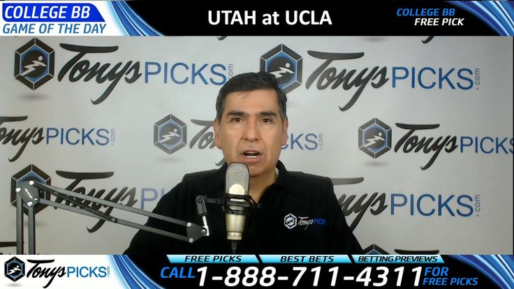 Utah Utes vs. UCLA Bruins Free NCAA Basketball Picks and Predictions 1/1...