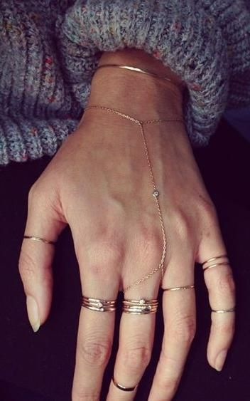 midi rings. #jewelry                                                                                                                                                                                 More