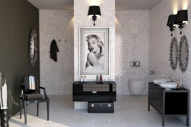 Marylin monroe/ bathroom inspirations